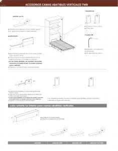 Cama abatible vertical con sofa tmb muebles mi hogar - Mecanismo para camas abatibles ...