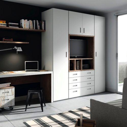 cama abatible horizontal con sofa 2 tmb