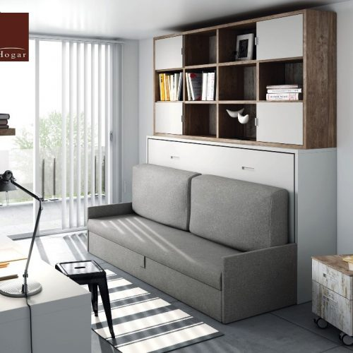 cama abatible horizontal con sofa 3 tmb