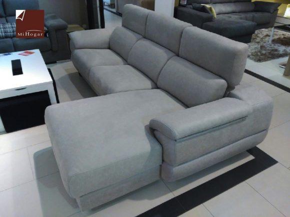 chaise longue deslizante cabecero reclinable sofa paola