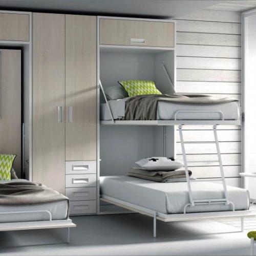 litera abatible vertical cama tmb