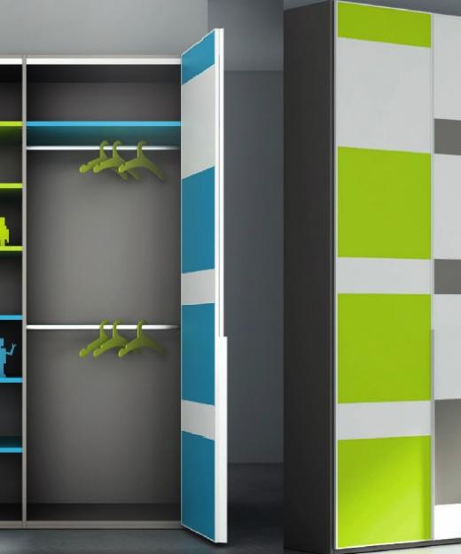 Puertas plegables para armarios simple with puertas - Armario puertas plegables ...
