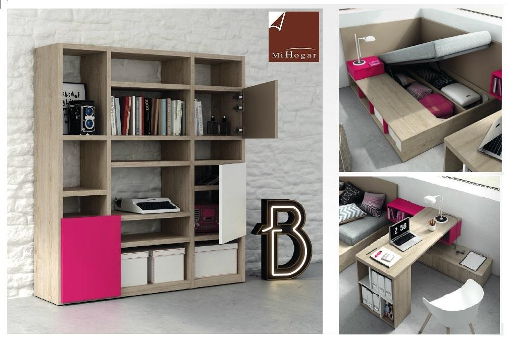 Dormitorios con canape abatible best dormitorio de - Dormitorios con canape ...