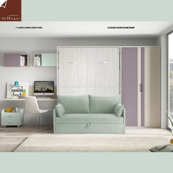 cama abatible vertical sofa gala