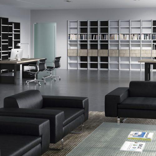 estanterias programa amplio dormitorio juvenil TMB