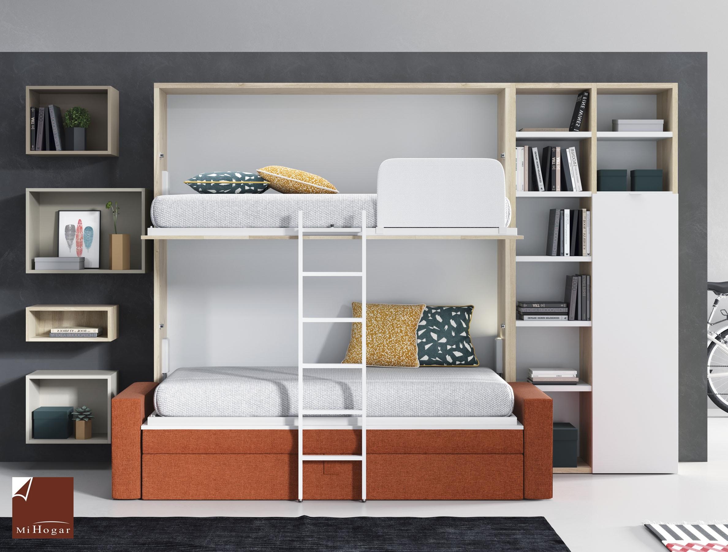 Dormitorios Juveniles Con Literas Abatibles. Elegant With ...