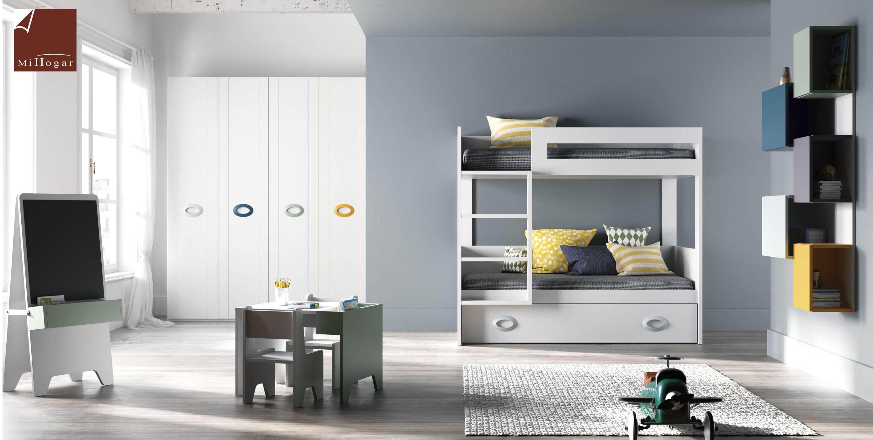 Litera tita tmb muebles mi hogar for Mueble cama con cajones