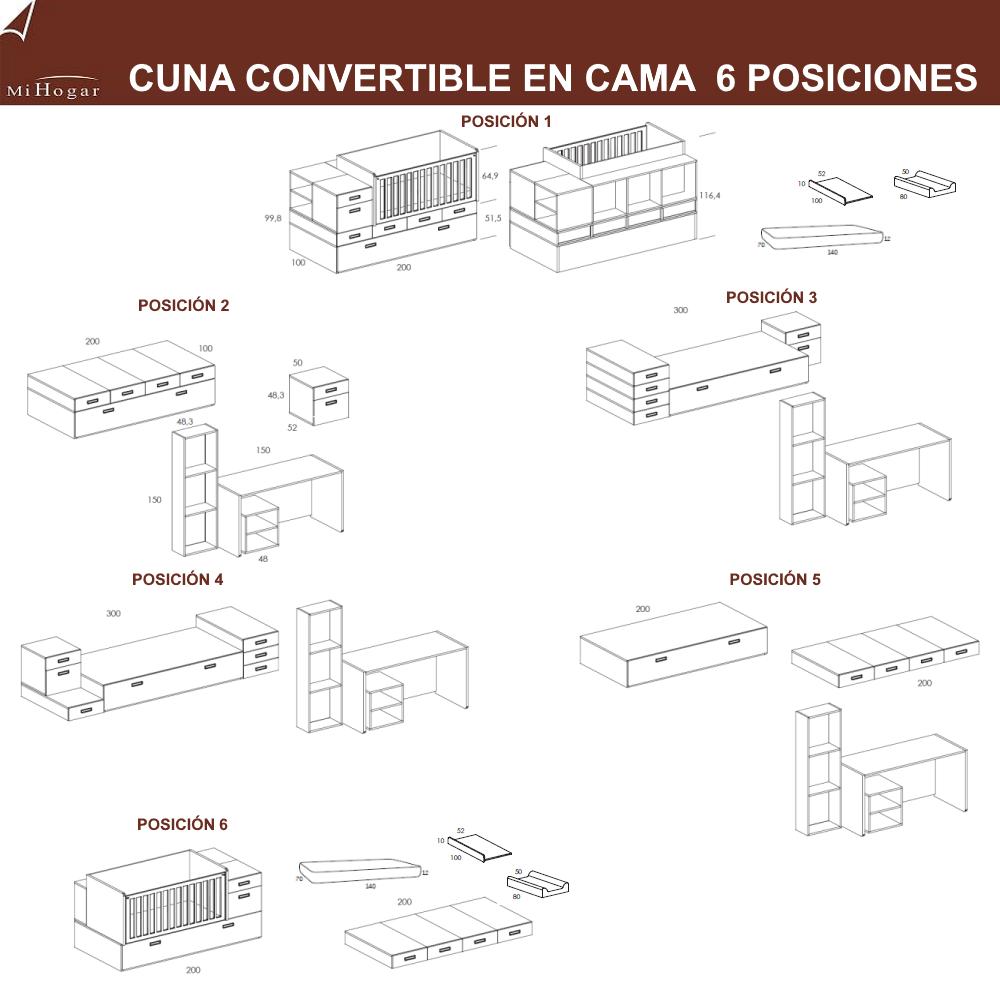 medidas-cuna-convertible-en-cama-modular-seis-posiciones-dormitorio-infantil-conver