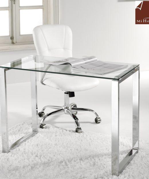 Mesa estudio con cajones low muebles mi hogar - Mesa estudio cristal ...
