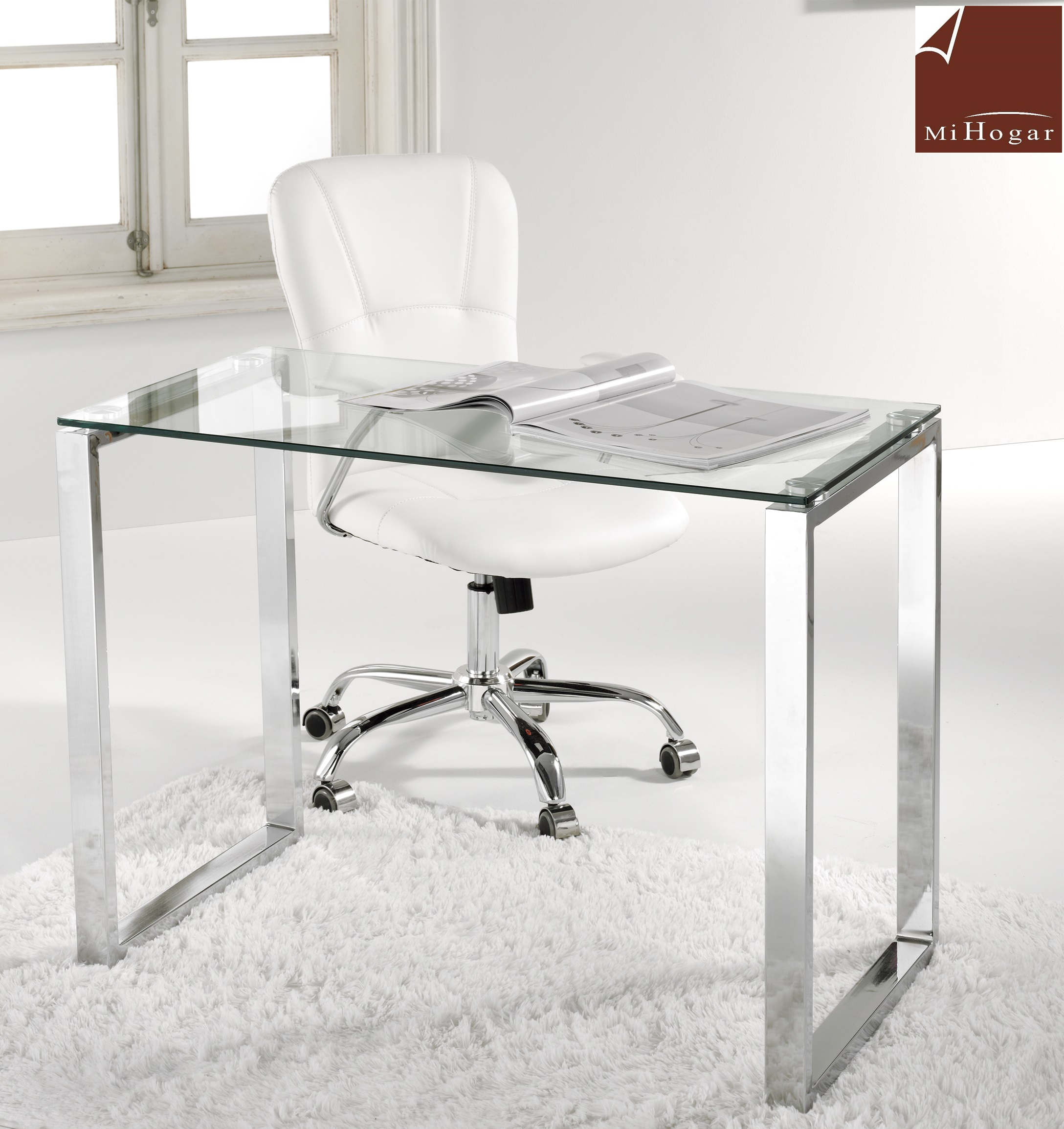 mesa-escritorio-cristal-ambar-100x50