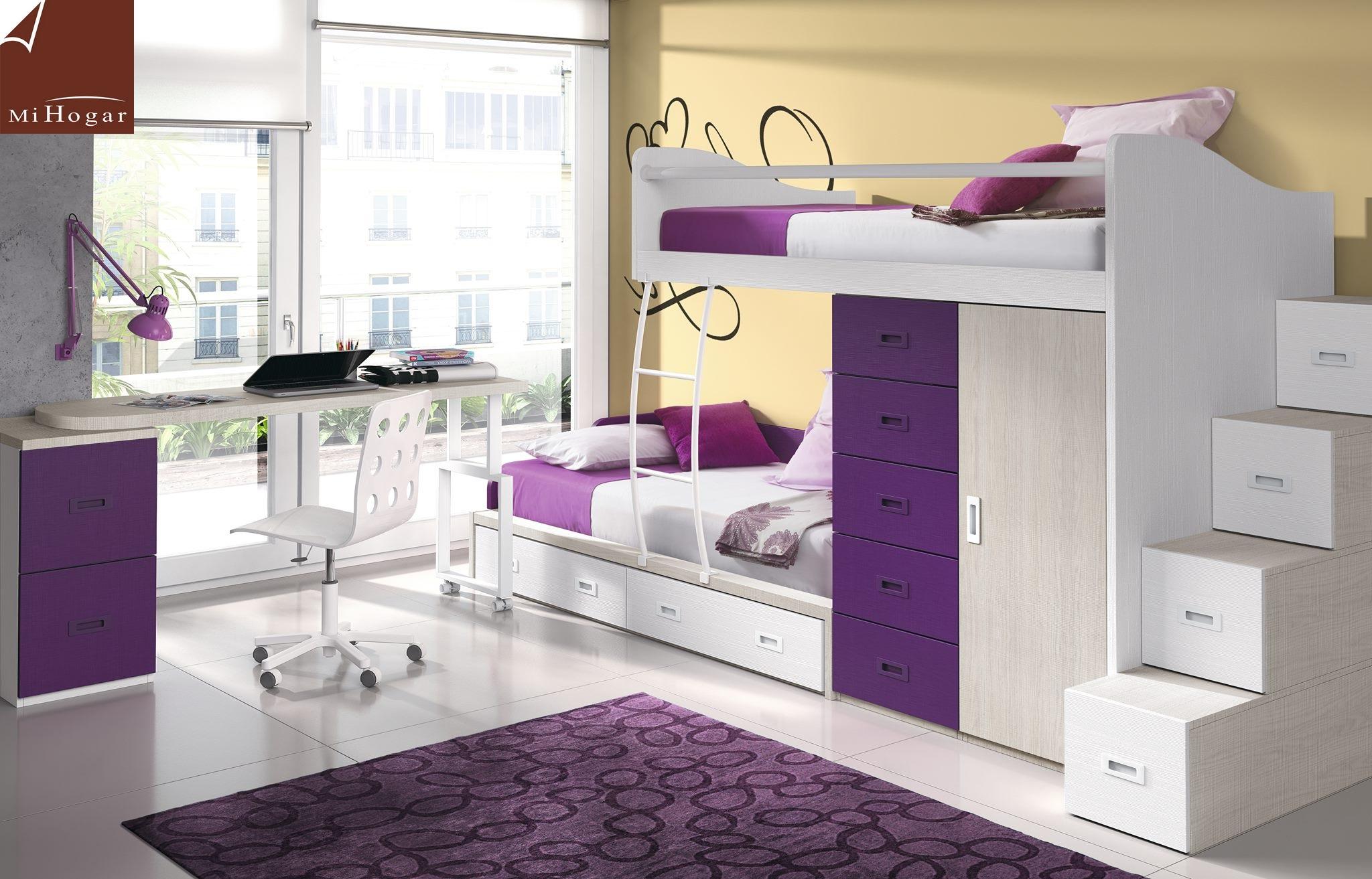 Cat logo dormitorios juveniles low muebles mi hogar for Catalogo de habitaciones juveniles