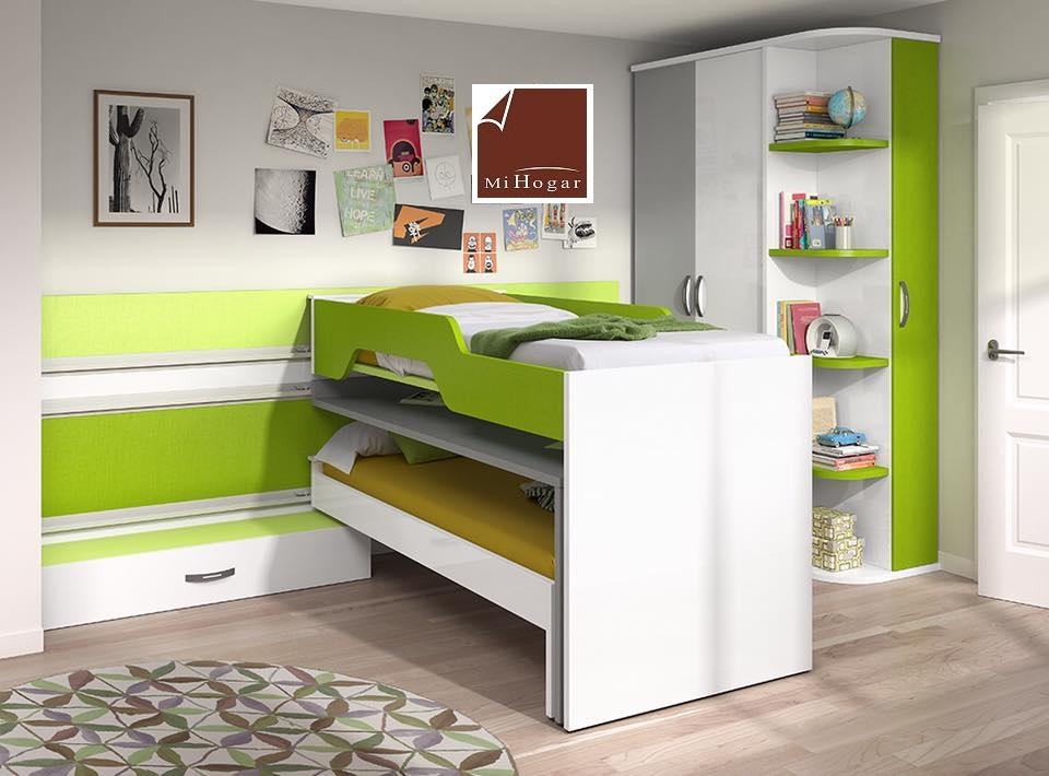 Cat logo dormitorios juveniles mox muebles mi hogar for Camas compactas desplazables