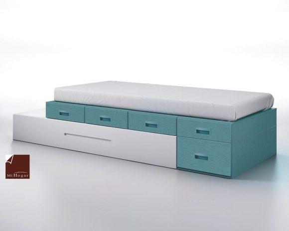 cama modular cajones extraible juveniles gala