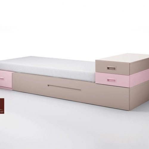 cama modular extraibe cajones juveniles gala