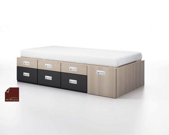 cama modular juvenil cajones gala