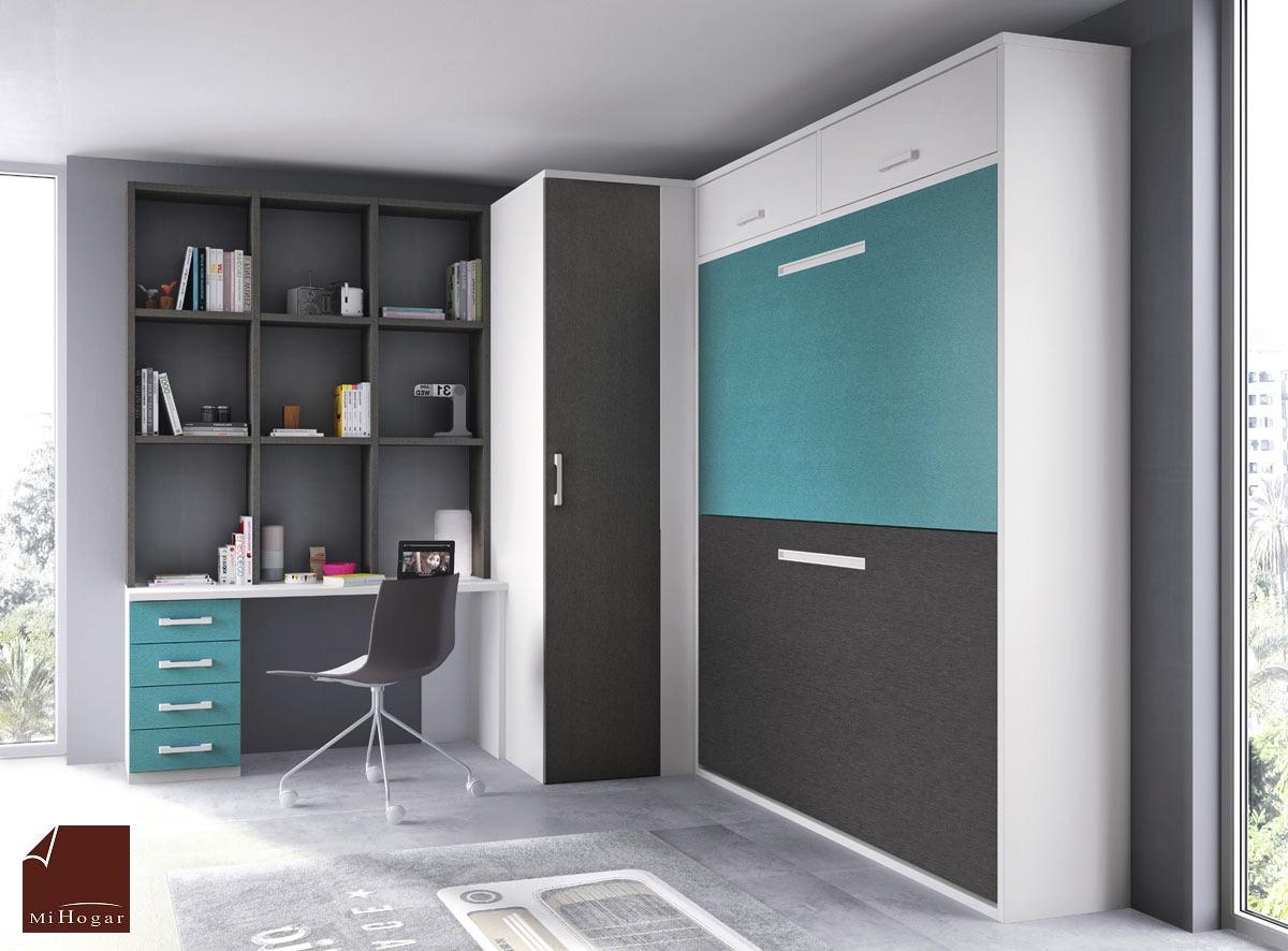 Litera abatible horizontal gala muebles mi hogar - Muebles literas abatibles ...