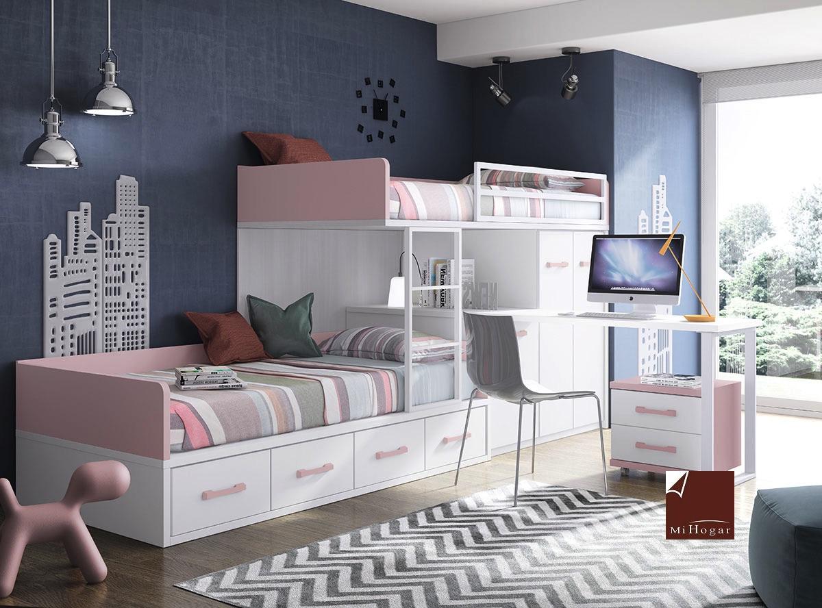 Cat logo dormitorios juveniles gala muebles mi hogar for Catalogo muebles juveniles