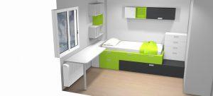 proyecto 3d camas apilables