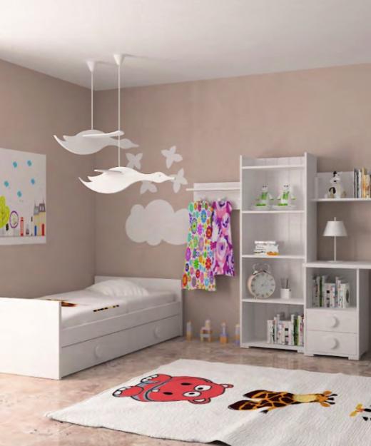 Infantiles cama nido interesting cama nido algeciras with for Cama dormitorio infantil