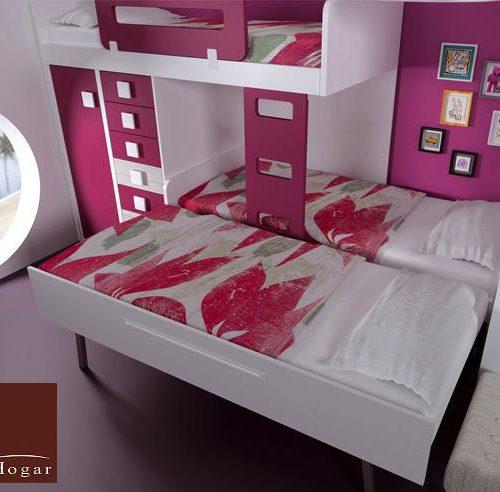 dos camas y extraible dormitorios infantiles malaca