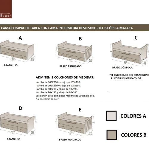 MEDIDAS-CAMA-COMPACTO-TABLA-CON-CAMA-INTERMEDIA-DESLIZANTE-TELESCÓPICA-MALACA