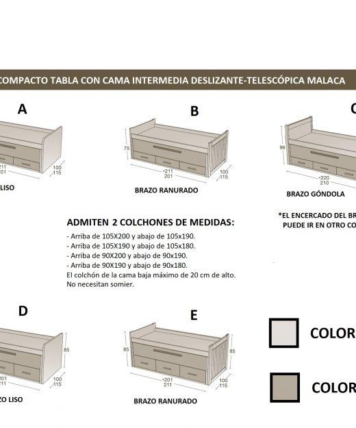 Colchones medidas trendy medidas de colchones with for Medidas estandar de colchones