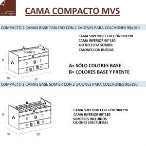 TÉCNICO-MEDIDAS CAMA COMPACTO MVS