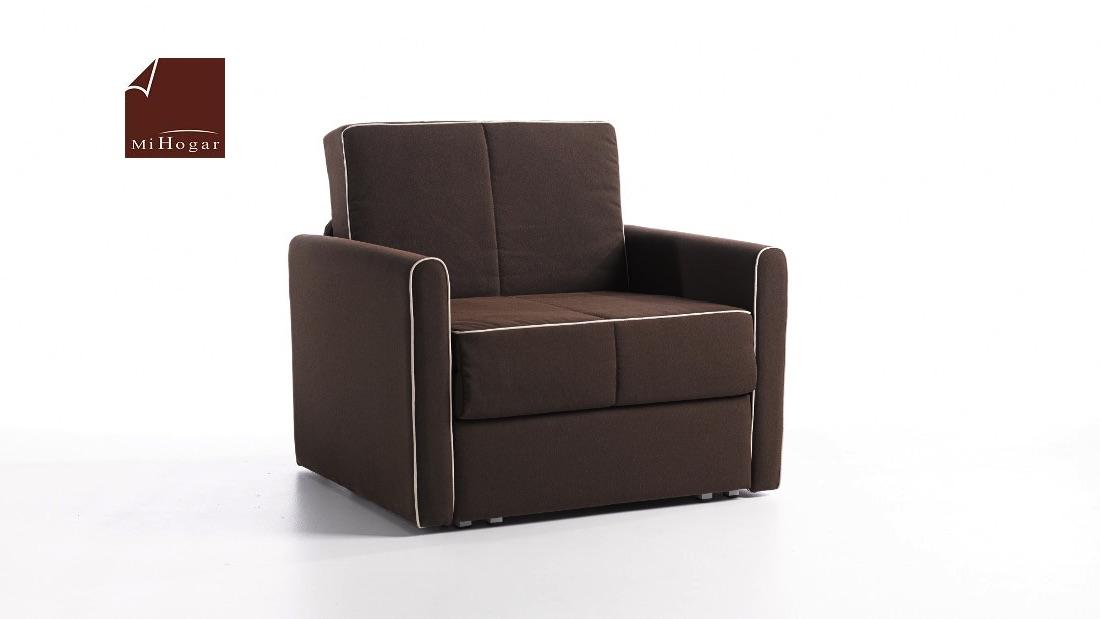 Santi sof y sill n cama muebles mi hogar for Muebles sillon cama