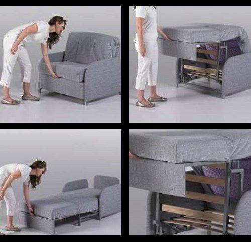 sofa cama doble sistema de apertura zar