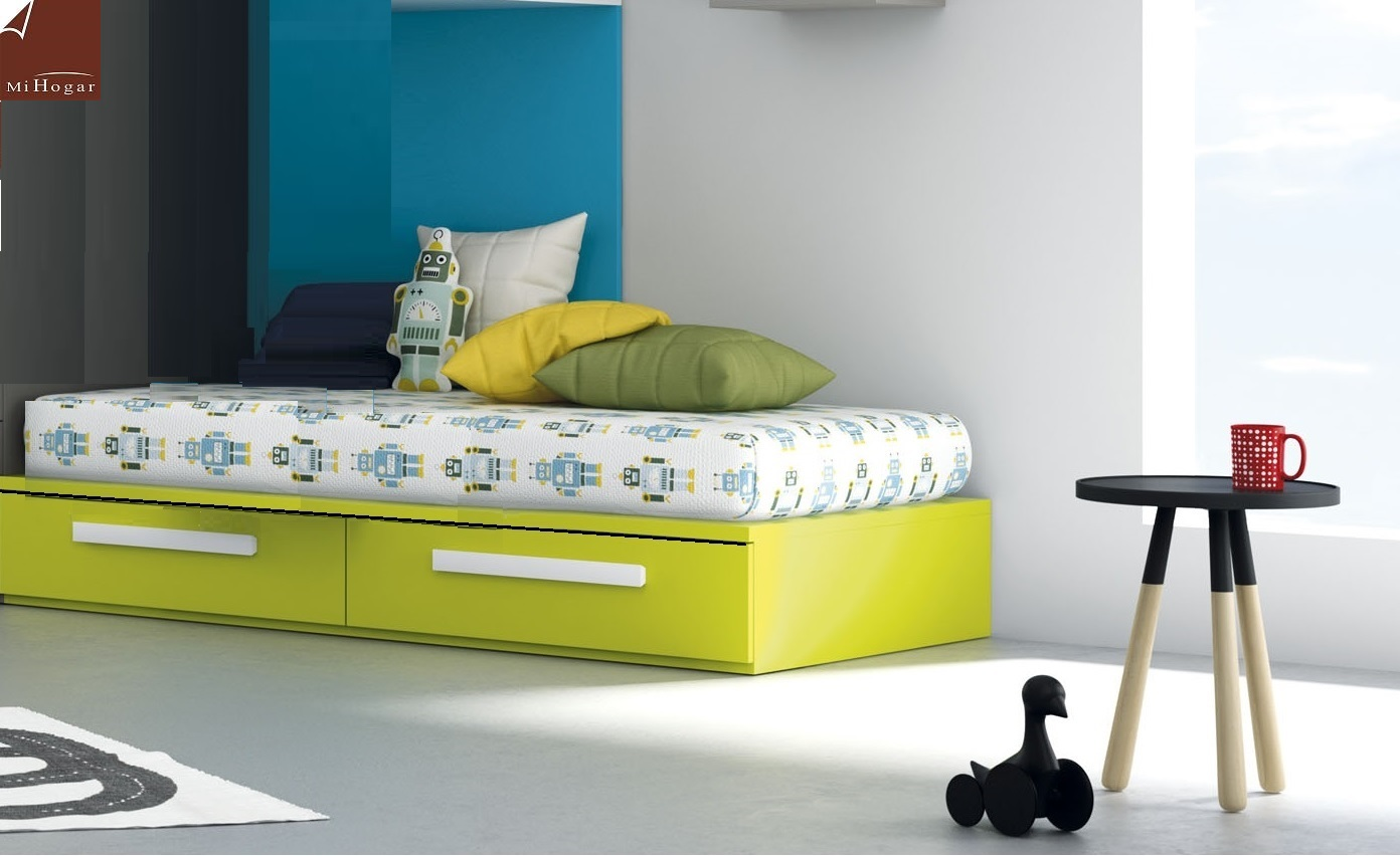 Cama nido tabla tmb muebles mi hogar for Cama nido dos camas
