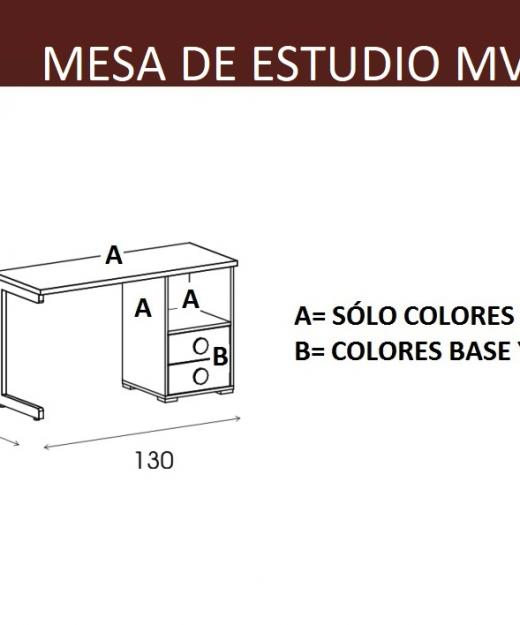 Sinfonier 6 cajones infantil mvs muebles mi hogar - Mesa estudio infantil ...