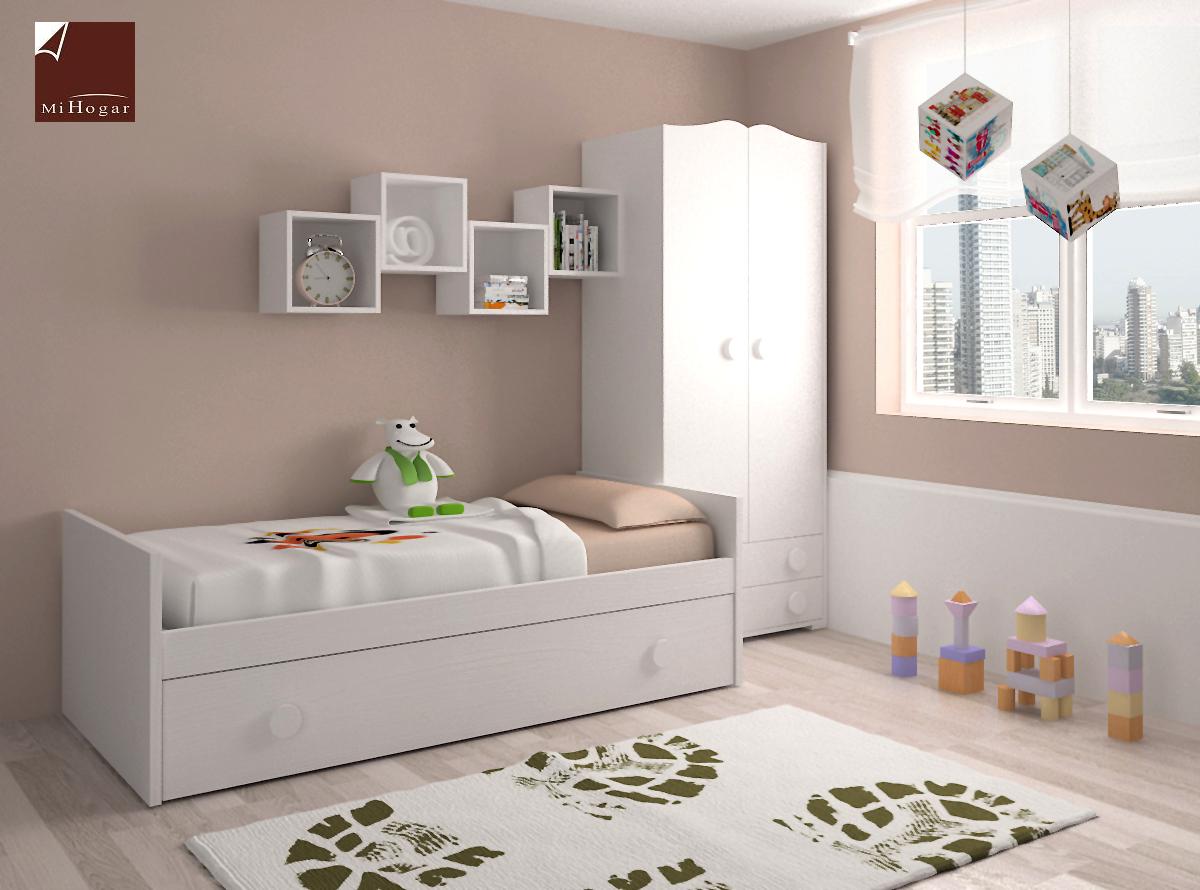 dormitorio infantil 2 mvs muebles mi hogar