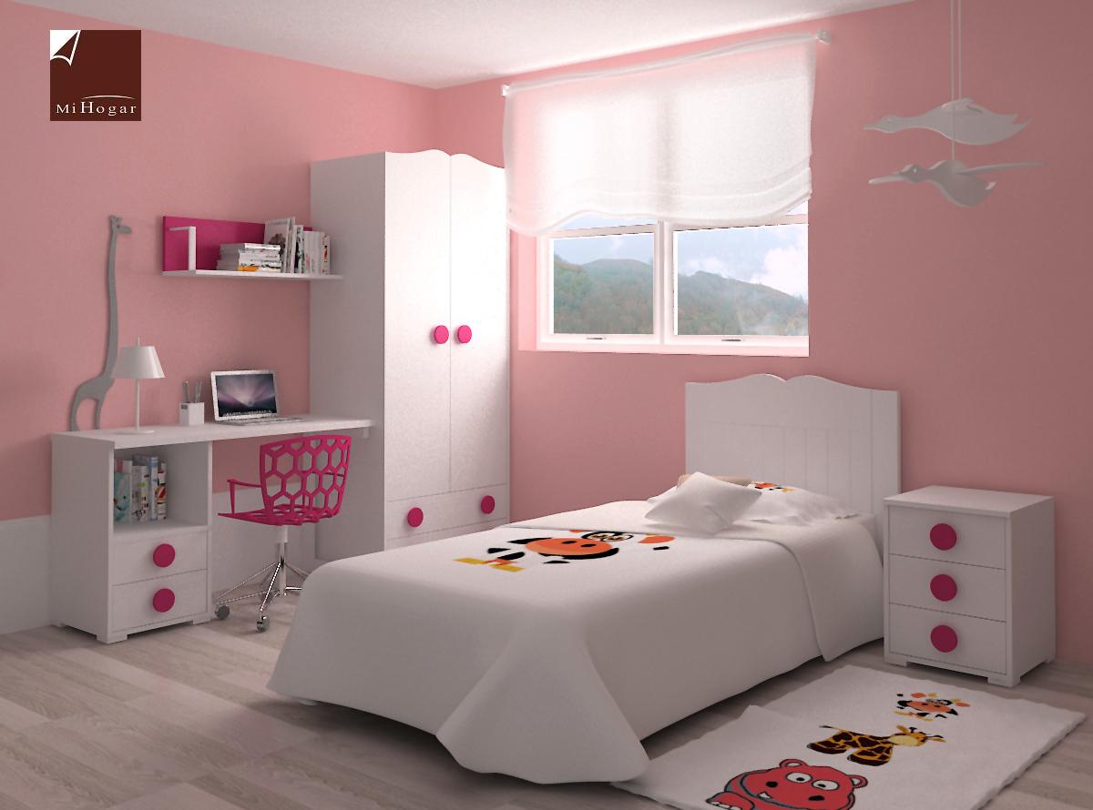 Dormitorio infantil 4 mvs muebles mi hogar - Dormitorios infantiles originales ...
