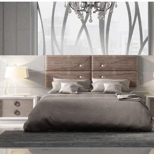 cabecero-corrido-lacado-tapizado-maquillage-a medida-botones-swarovski-dormitorio-formas