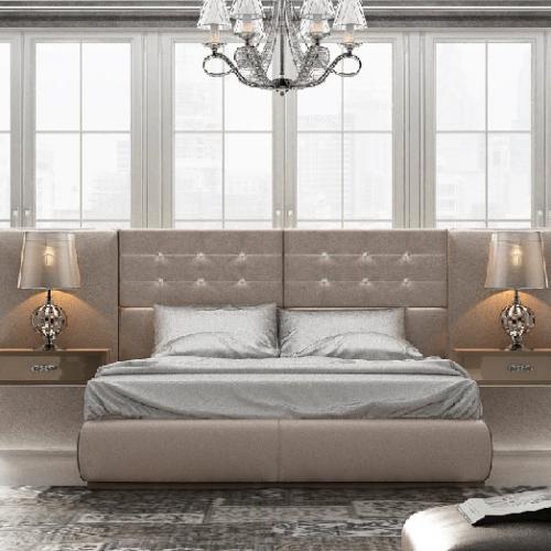 cabecero-corrido-todo-tapizado-beige-a medida-botones-swarovski-dormitorio-formas