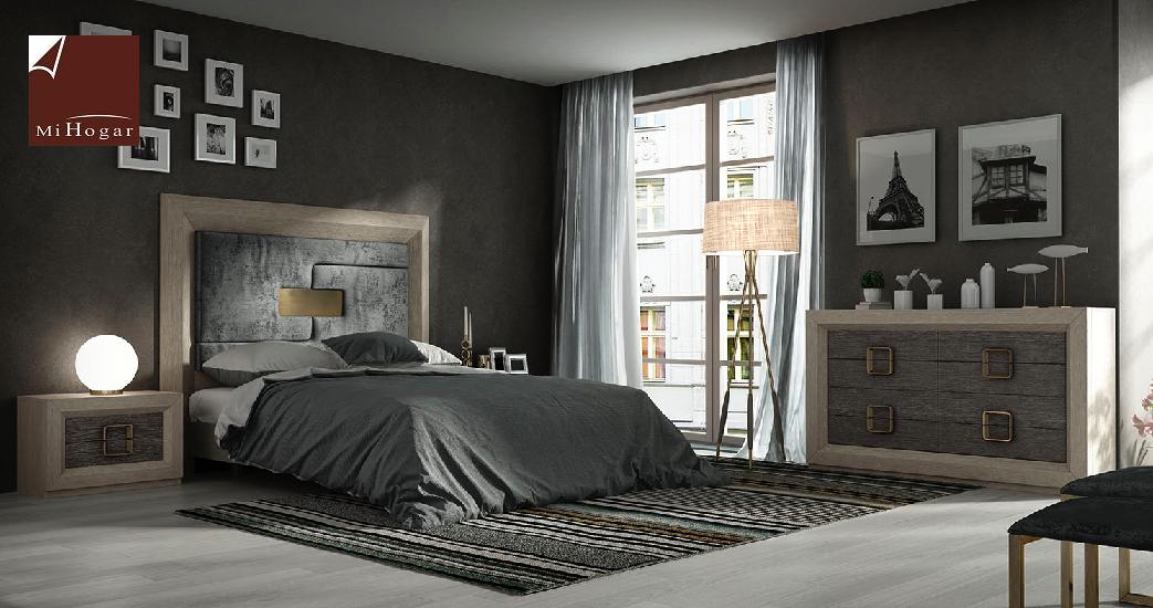 cabecero-doble-inglete-roble-poro-tapizado-pieza-central-dormitorio ...