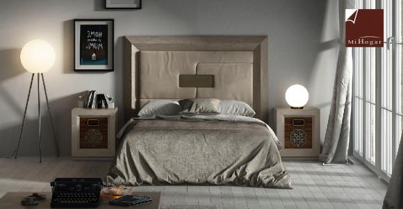 Contemporáneo Muebles De Cabeceros Woodupholstered Colección ...