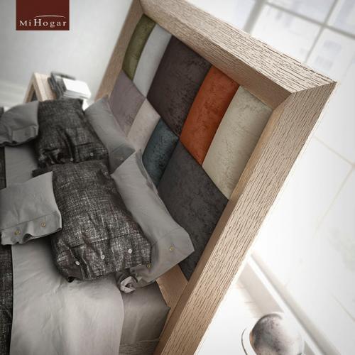 cabecero-doble-inglete-roble-poro-tapizado-rectangulos-multicolor-detalles-dormitorio-formas