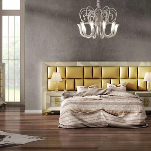 cabecero-inglete-corrido-lacado-tapizado-rectangulos-oro-dormitorio-formas