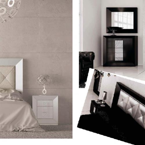 cabecero-inglete-lacado-tapizado-cuadros-blanco-negro-dormitorio-formas