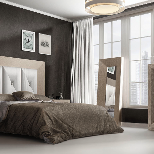 cabecero-inglete-roble-poro-tapizado-cuadros-dormitorio-formas