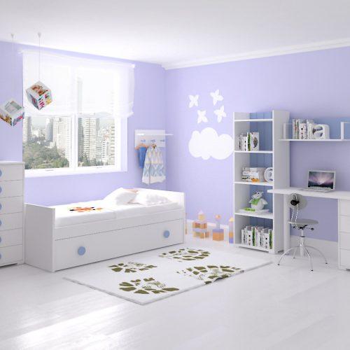 cama nido sinfonier estanteria mesa dormitorio infantil mvs