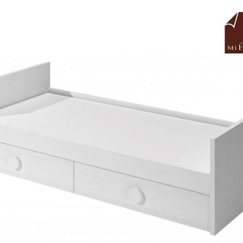 cama nido tabla con cajones de arrastre blanco dormitorio infantil mvs