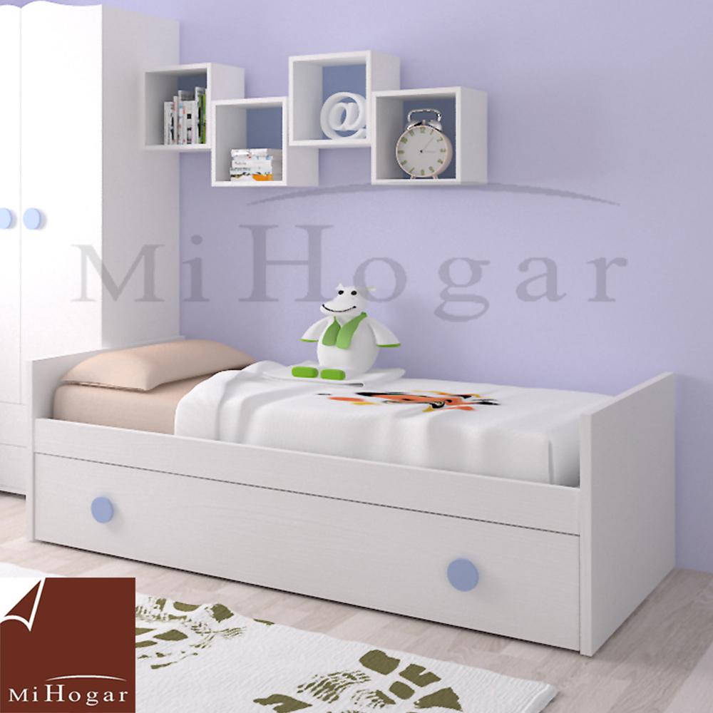 Cama nido infantil mvs muebles mi hogar - Dormitorio infantil cama nido ...