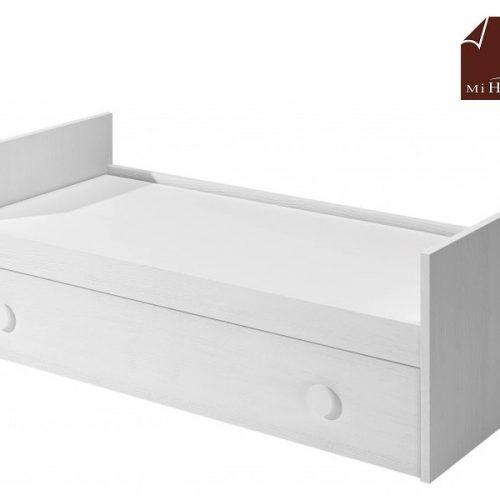 cama nido tabla con somier de arrastre elevable blanco dormitorio infantil mvs