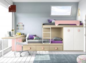 cama tren composicion c dormitorios juveniles low