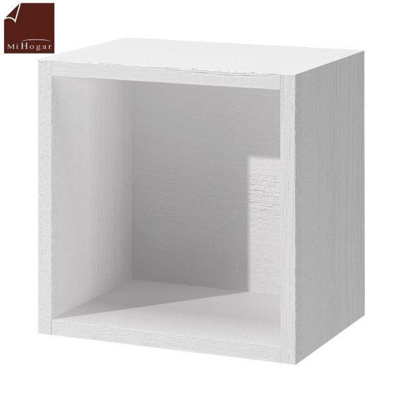 cubo diáfano blanco dormitorio infantil mvs