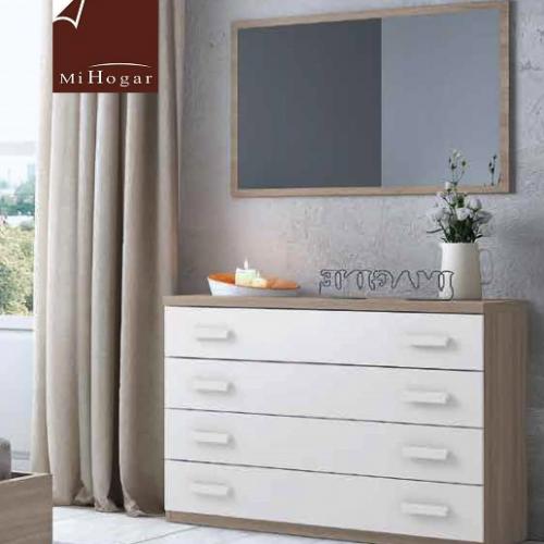 espejo pared dormitorio juvenil low
