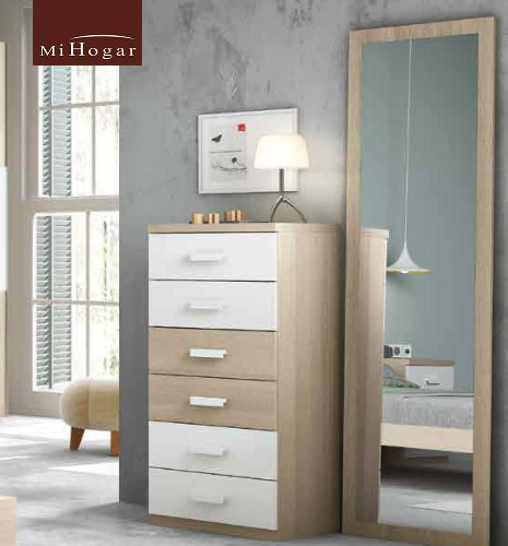 espejo vestidor dormitorio juvenil low