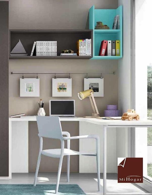 Estantes y m dulos de colgar low muebles mi hogar for Amoblamientos de dormitorios juveniles